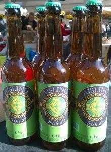Aisling bière de la saint Patrick