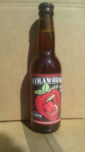 bière à la fraise La HOCQ